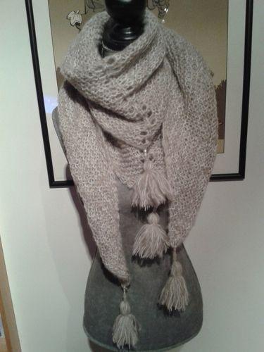Makerist - châle qui n'a pas encore de nom - Créations de tricot - 1