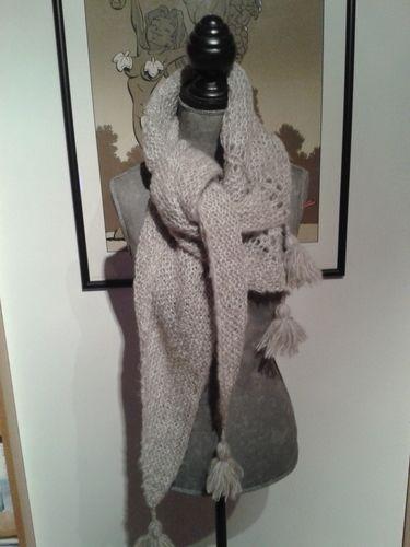 Makerist - châle qui n'a pas encore de nom - Créations de tricot - 2