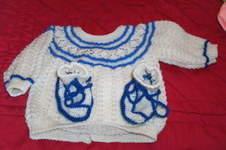 Makerist - brassières et chaussons, en laine, et pour les bébés  - 1