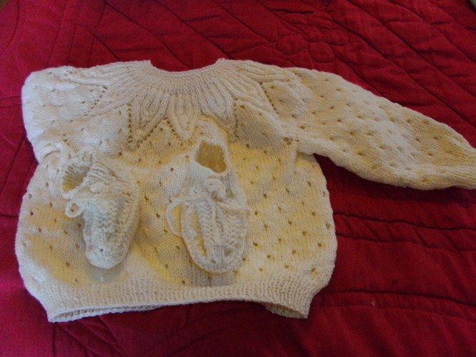 Makerist - brassières et chaussons, en laine, et pour les bébés  - Créations de tricot - 3