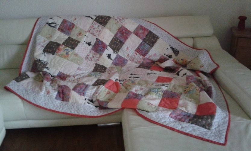 Makerist - Traum in rosa - Patchwork-Projekte - 1
