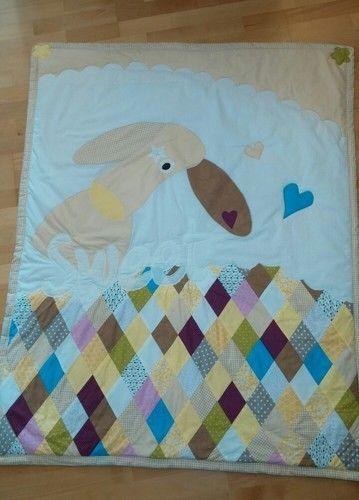Makerist - Krabbeldecke - Hund  - Patchwork-Projekte - 1