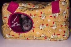 Makerist - Kuschelhaus für Kleintiere - 1
