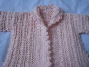 Makerist - gilet au crochet - 1