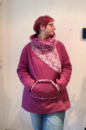 Makerist - Winterjacke Pink Berry - Nähprojekte - 1