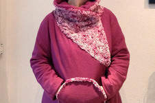 Makerist - Winterjacke Pink Berry - 1