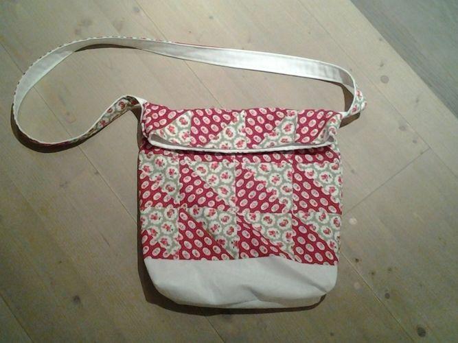 Makerist - Patchwork-Beutel-Tasche - Patchwork-Projekte - 1
