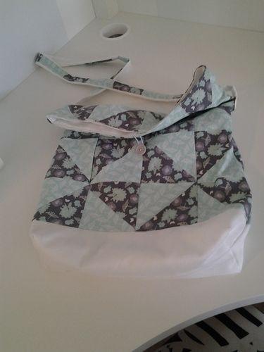 Makerist - Patchwork-Beutel-Tasche - Patchwork-Projekte - 2
