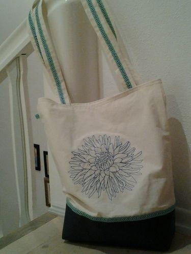 Makerist - bestickter Shopper - Nähprojekte - 1