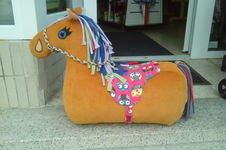 Makerist - Reittier Pferd nach dem Schnittmuster von frau Scheiner - 1