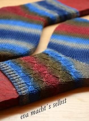 Makerist - Bienchen Socken - 1