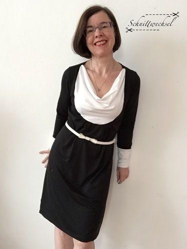 Makerist - Kleid/Tunika Smilla von Susi`s Kreation aus weich fließendem Jersey - Nähprojekte - 1