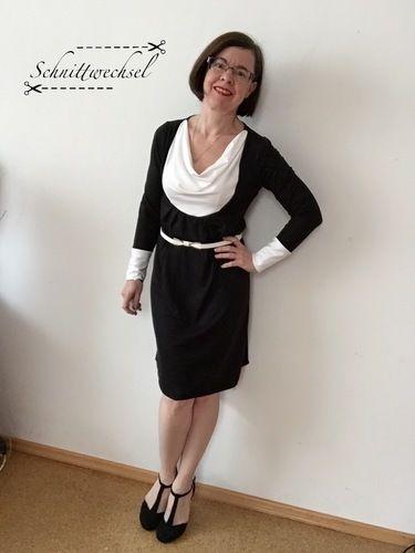 Makerist - Kleid/Tunika Smilla von Susi`s Kreation aus weich fließendem Jersey - Nähprojekte - 2