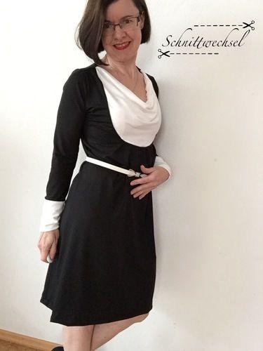 Makerist - Kleid/Tunika Smilla von Susi`s Kreation aus weich fließendem Jersey - Nähprojekte - 3