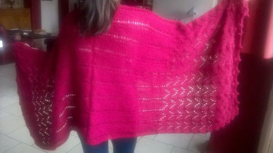 Makerist - Châle ajouré - Créations de tricot - 1