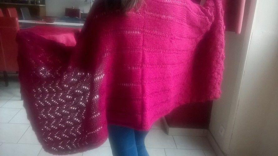 Makerist - Châle ajouré - Créations de tricot - 2