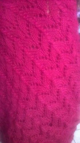 Makerist - Châle ajouré - Créations de tricot - 3