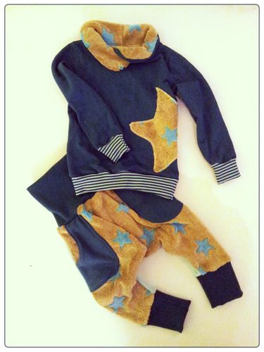 Makerist - Pullover und Pumphosen - Set - Nähprojekte - 1