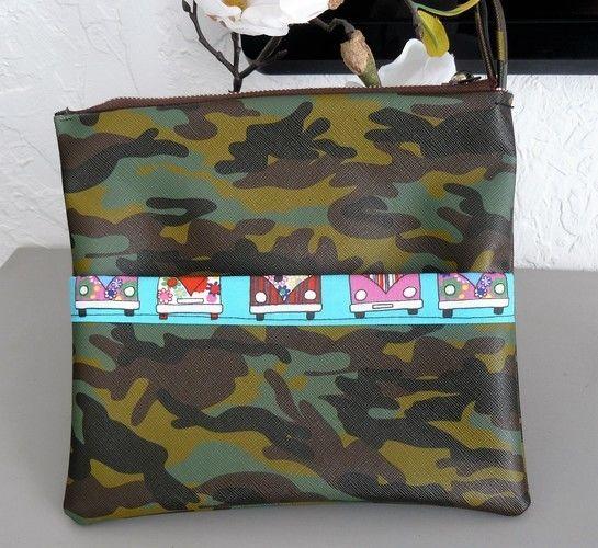 Makerist - camouflage, pour une sacoche tendance  - Autres créations - 1