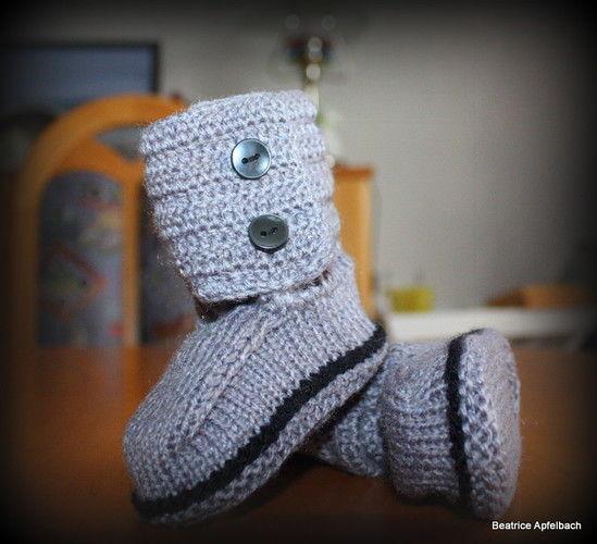 Makerist - Booties für coole Jungs - Strickprojekte - 1
