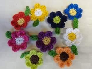 Ansteckblumen zum Frauentag