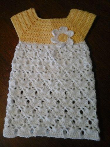 Makerist - Robe printanière pour fillette - Créations de crochet - 1