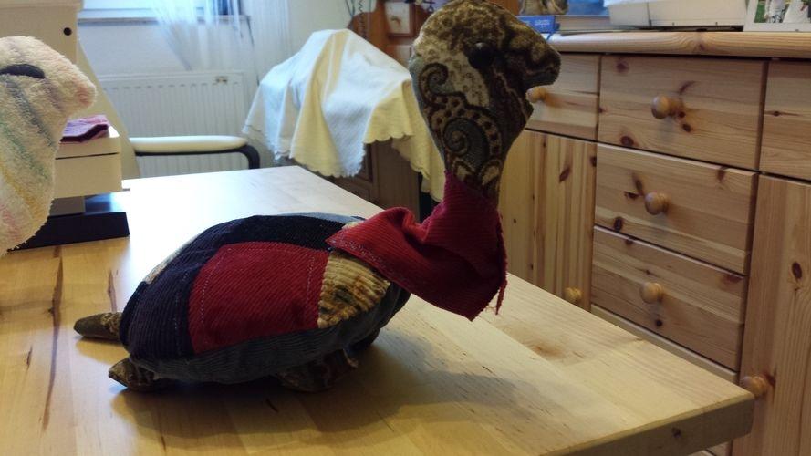 Makerist - Schidkröte aus Cordstoffen....die Probe für mich. - Nähprojekte - 1