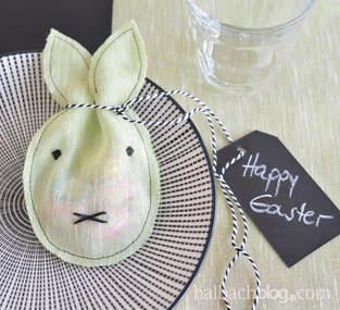 Makerist - Ostergeschenk: Hasen-Stoff-Säckchen - 1