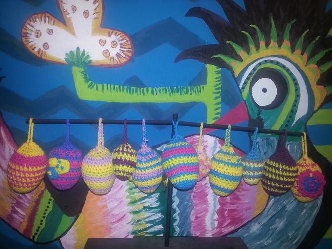 Makerist - Ostereier.Ostern steht vor der Tür - Häkelprojekte - 1