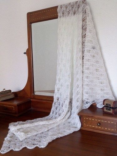 Makerist - Woodland Lace Shawl - Strickprojekte - 1
