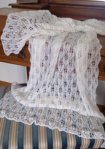 Makerist - Woodland Lace Shawl - Strickprojekte - 2