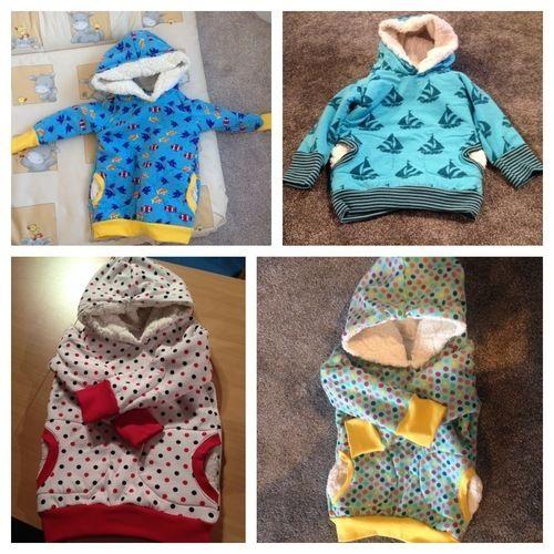 Makerist - Kuschelhoodie für Kinder der Familie - Nähprojekte - 1