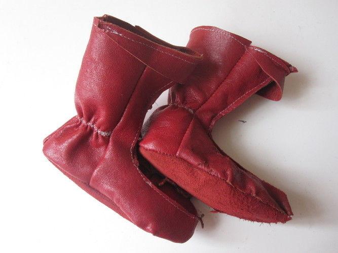 Makerist - Elfenstiefel aus rotem Leder - Nähprojekte - 1