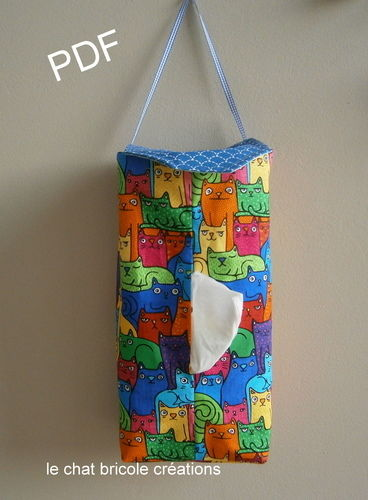 Makerist - Housse pour boîte à mouchoirs - Créations de couture - 1