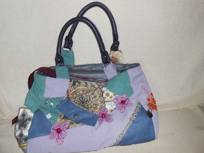 Makerist - Tasche aus Resten - Nähprojekte - 1