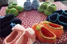 Makerist - Chaussures chaussons bébé au crochet en coton - 1