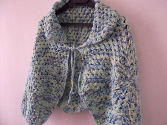 Makerist - Poncho cape pour filles fait main - Créations de crochet - 1