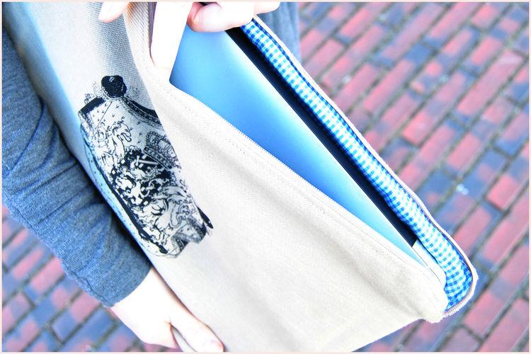 Makerist -  NOTEBOOK TO GO - Nähprojekte - 2