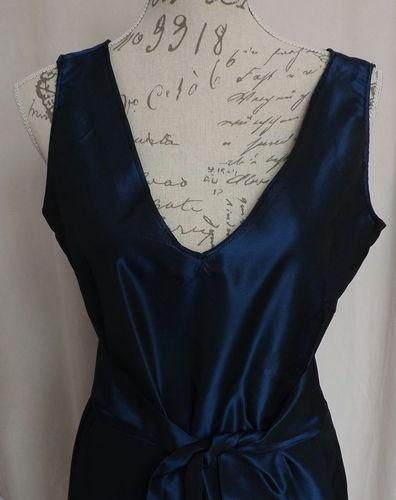 Makerist - Robe taffetas bleu nuit - Créations de couture - 2