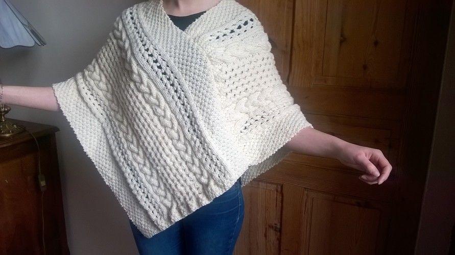 Makerist - Poncho irlandais - Créations de tricot - 1