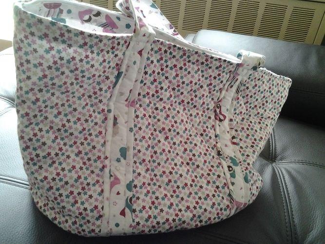Makerist - grand sac de plage ou autre - Créations de couture - 1