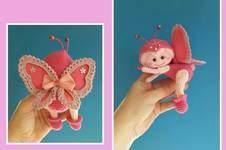 "Makerist - Amigurumi Schmetterling "" Cynthia "" 14 cm Groß - 1"