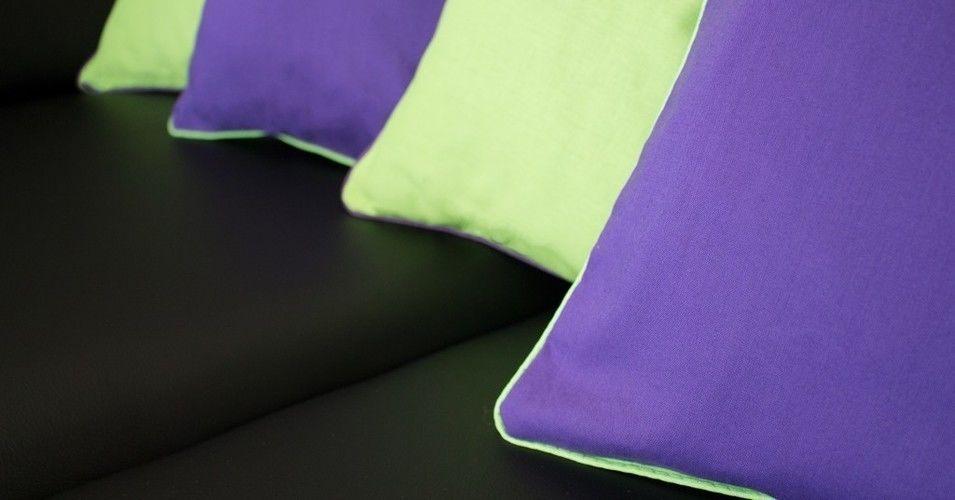 Makerist - Frühlingshafte Kissenhüllen mit Kontrast-Paspel - Nähprojekte - 2