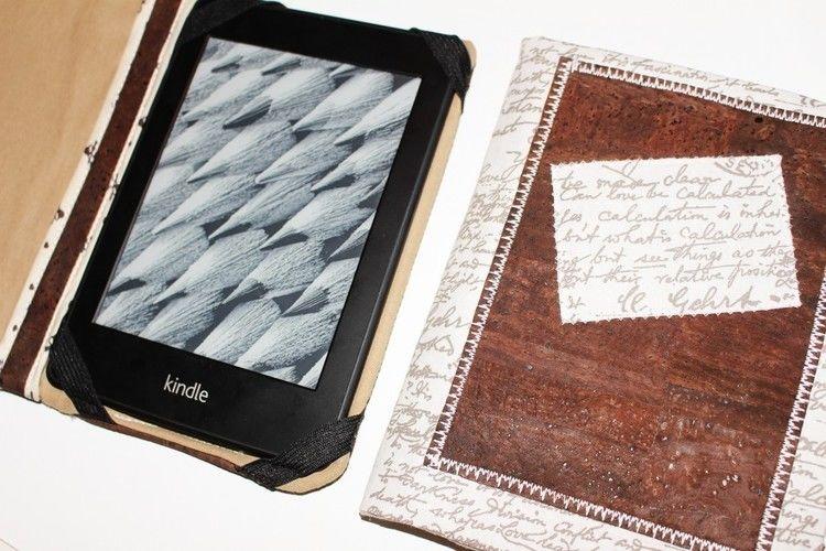 Makerist - Design Award Kork: E-Book Reader Hülle - Nähprojekte - 3