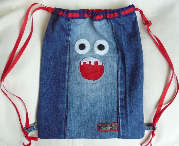 Makerist - Rucksack aus alten Jeans - Nähprojekte - 1
