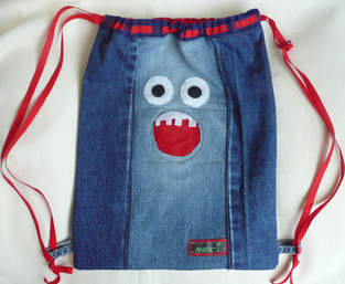 Makerist - Rucksack aus alten Jeans - 1