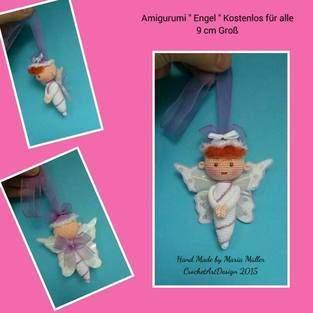 Makerist - Amigurumi Engel  9 cm Groß - 1