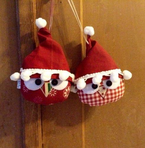 Makerist - Weihnachtseulen...oder kleine wichteleulen :-) - Nähprojekte - 1