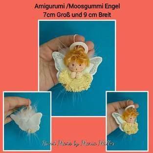 Makerist - Amigurumi / Moosgummi Engel - Glücksbringer - 1