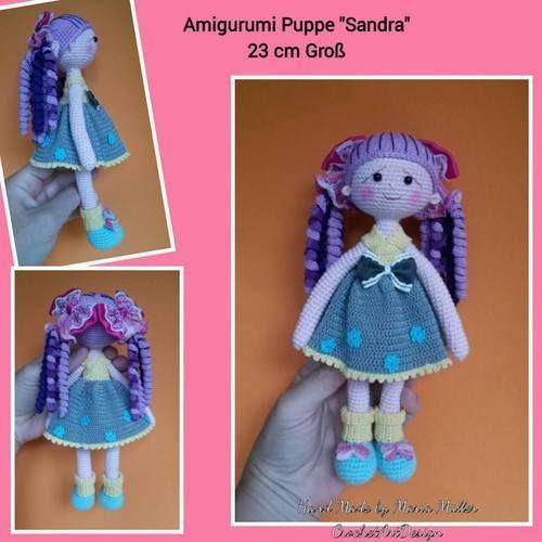 Makerist - Amigurumi Puppe Sandra  - Häkelprojekte - 1